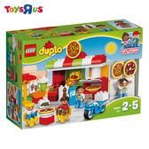 玩具反斗城  LEGO 樂高 10834 duplo得寶幼兒系列 披薩店