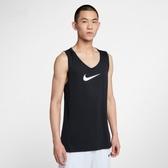NIKE服飾系列-NK DRY TOP SL CROSSOVER B 男款運動背心 黑-NO.AJ1432010