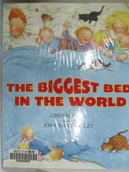 【書寶二手書T7/少年童書_J22】The Biggest Bed in the World_Lindsay Camp