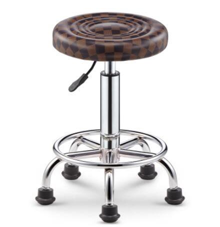 吧台椅酒吧椅子旋轉升降靠背家用高腳凳圓凳子時尚創意美容凳轉椅【全館免運】
