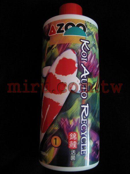 【西高地水族坊】AZOO 錦鯉活菌(1L )