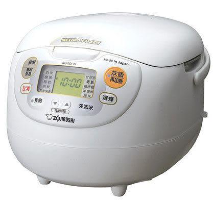 ◤日本原裝◢象印10人份微電腦免洗米電子鍋 NS-ZDF18 。免運費。(另售NH-VCF18/NS-YSF18可參考)