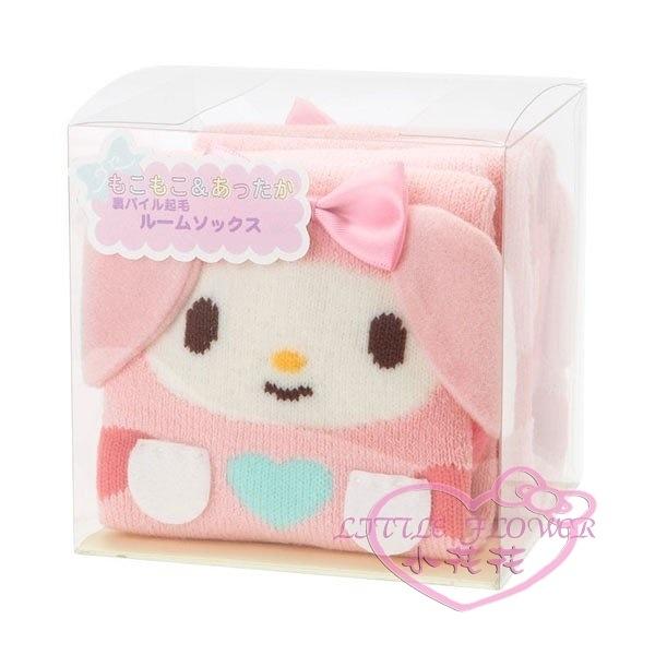 小花花日本精品♥Melody美樂蒂圖案盒裝襪子 粉色長襪 腳踝襪 舒適溫暖好穿保暖冬天必備07007002