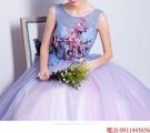 (45 Design)  7天到貨 新客製化顏色大尺碼訂做服6 婚紗禮服伴娘晚會主持人中長版蕾洋裝