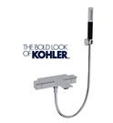 【麗室衛浴】美國KOHLER  STANCE 附牆花灑龍頭(鉻)  K-9100T-9-CP