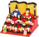 《Nano Block迷你積木》NBH_208 雛人形 / JOYBUS玩具百貨