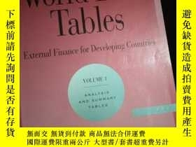 二手書博民逛書店World罕見Debt Tables 1996 Now Available on CD-ROM and Diske