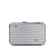 手拿包-純色迷你行李箱造型女化妝包10色73ft17【時尚巴黎】
