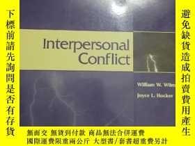 二手書博民逛書店Interpersonal罕見Conflict (5th Edition)Y146830 William W.
