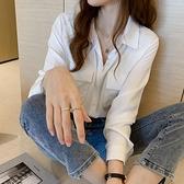 衬衫 設計感小眾長袖外穿襯衫女春秋2020新款韓版洋氣流行ins上衣襯衣 风尚3c