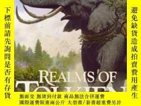 二手書博民逛書店Realms罕見Of Tolkien: Images Of Middle-earthY307751 Ted N