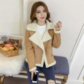 羊羔毛外套女冬季短款韓版寬鬆顯瘦加厚鹿皮絨夾克棉衣·皇者榮耀3C旗艦店