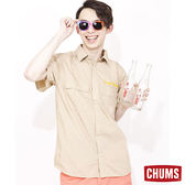 CHUMS 日本 男 雙口袋風格襯衫 棕 CH021007B001