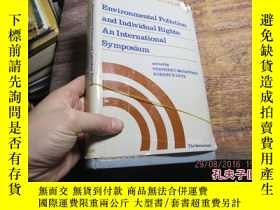 二手書博民逛書店environmental罕見pollution and ind