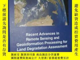 二手書博民逛書店Recent罕見Advances in Remote Sensi