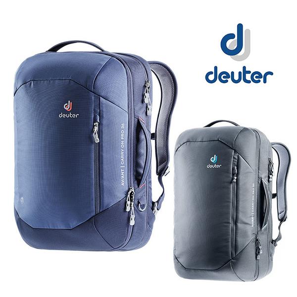 丹大戶外用品 德國【Deuter】AVIANT CARRY ON 36L 專業休閒電腦後背包 3510220 黑/藍