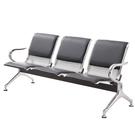 連排椅三人位不銹鋼醫院候診輸液椅加固加厚公共座椅等候椅機場椅 酷男精品館