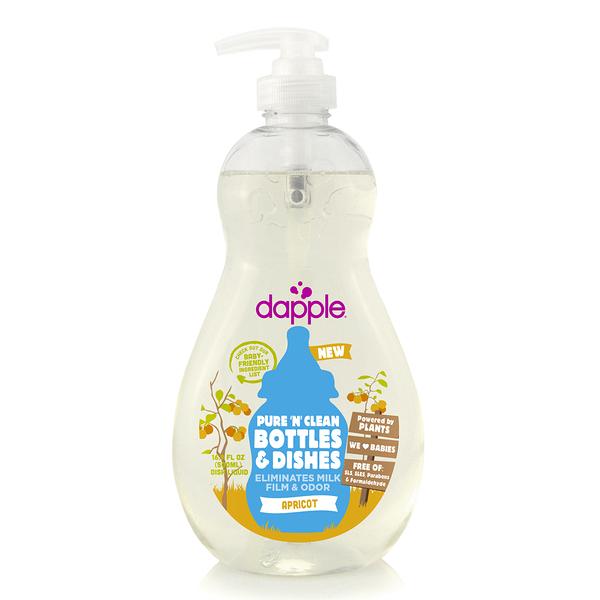 美國 Dapple Baby 杏仁奶瓶及餐具清潔液500ML