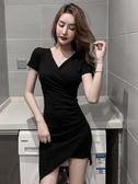 不規則設計顯瘦包臀短裙