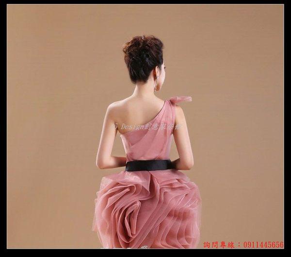 (45 Design) 訂做款式7天到貨 新娘婚紗禮服 藍色伴娘服姐妹服 短演出服 外單