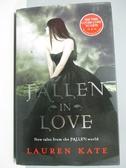 【書寶二手書T5/原文小說_PFW】Fallen in Love_Lauren Kate