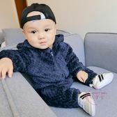 嬰兒連身裝 女嬰兒衣服男寶寶長袖哈衣爬服睡衣新生兒連身衣 中秋烤肉特惠