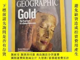 二手書博民逛書店national罕見geographic【january 2009】Y4953 national nation