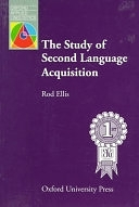 二手書博民逛書店 《The Study of Second Language Acquisition》 R2Y ISBN:0194371891│Oxford University