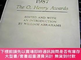 二手書博民逛書店PRIZE罕見STORIES 1987 1987年歐 . 亨利文學獎短篇小說集Y247341 歐 . 亨利 外