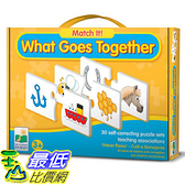 [美國直購] 2016美國暢銷兒童書 What Goes Together The Learning Journey Match It!