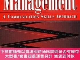 二手書博民逛書店Conflict罕見Management: A Communication Skills Approach-沖突管