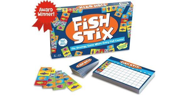 【KANGA GAMES】魚兒水中游 Fish Stix 家庭益智派對桌上遊戲