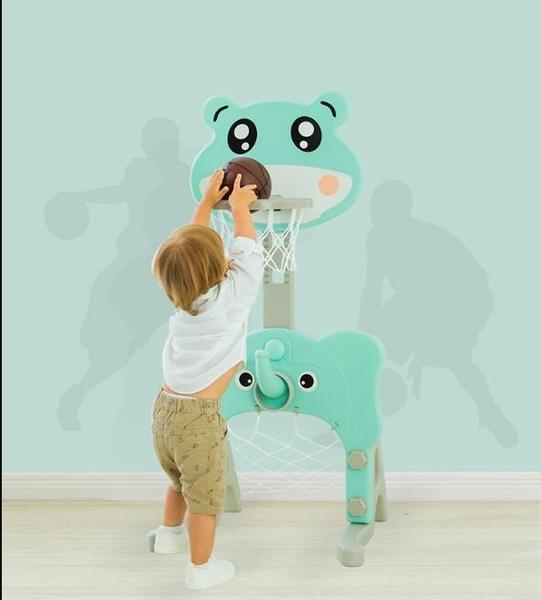 兒童籃球架子寶寶可升降投籃筐框家用室內小男孩玩具1-2-3-4周歲  女神購物節 YTL