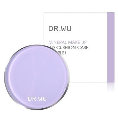 DR.WU夢幻紫色粉盒+ 氣墊粉餅補充包 高效防曬SPF50+ PA+++ 保濕水感【淨妍美肌】