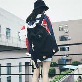 日本超大容量手提旅行包輕便運動健身背包男女短途旅游雙肩包 st1812『毛菇小象』