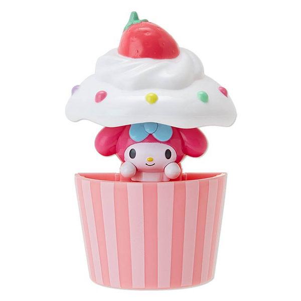 【震撼精品百貨】My Melody 美樂蒂~美樂蒂趣味躲貓貓彈跳造型磁鐵(杯子蛋糕)