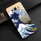 Samsung Galaxy J7 2016 Prime N075T 手機殼 硬殼 浮世繪 海浪