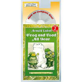 【麥克書店】An I Can Read : FROG AND TOAD ALL YEAR / 英文讀本CD / 汪培廷的英文書單