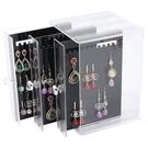 [拉拉百貨]壓克力 三層黑色 耳環 收納架 飾品收納 收納 耳環