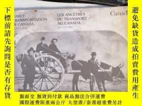 二手書博民逛書店EARLY罕見TRANSPORTATION IN CANADA(