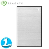 Seagate希捷 Backup Plus Slim 2.5吋 1TB 星鑽銀(STHN1000401)