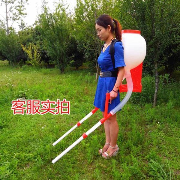 百樂福手動多功能玉米水稻蔬菜施肥撒肥 追肥器播種器撒種機JD 一件免運