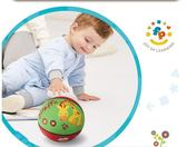 拍拍球 寶寶小皮球玩具兒童用拍拍球 莎拉嘿幼