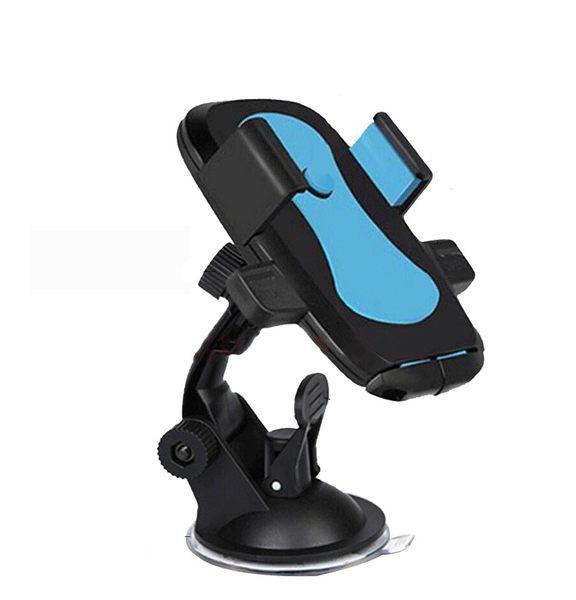 【EASY吸盤】汽車用手機架 車載吸盤式手機座 導航支架 手機夾車架 180度旋轉