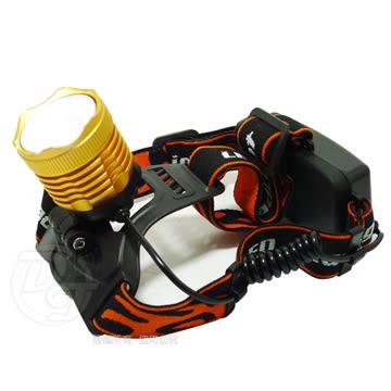 《一打就通》雷特斯25W亮度白光/黃光變焦充電式頭燈 LTS-25W8022