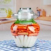 密封罐 泡菜壇子玻璃家用透明加厚腌菜密封罐四川腌制咸菜缸酸老式大小號
