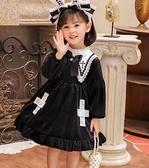 女童洋裝洛麗塔女童連衣裙春洋裝裙子兒童生日蘿莉裙~ 出貨八折鉅惠~