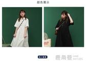小清新日系超仙裙子女長款梗桔初戀森系夏季白色仙女裙襯衫洋裝