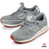 New Balance 530 新竹皇家 灰 麂皮 橘底  運動鞋 男女款 NO.A9112