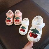 夏季新款學步鞋寶寶軟底防滑寶寶公主鞋子